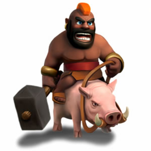 Анти Хог База - Защита в Clash of Clans