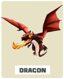 Дракон Dragon  Clash of Clans