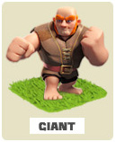 Гигиант Clash of Clans