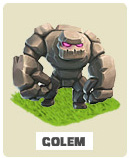 Голем golem Clash of Clans