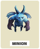 Минион minion Clash of Clans
