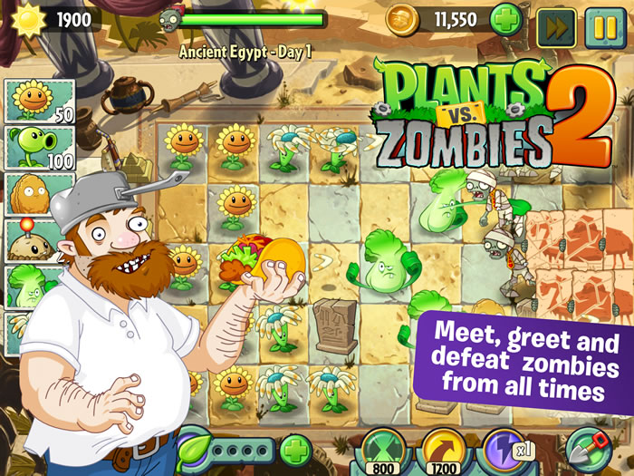 Plants vs Zombies 2 скачать