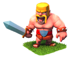 Варвары (Barbarian) Clash of Clans