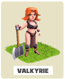 Валькирии Valkyrie Clash of Clans