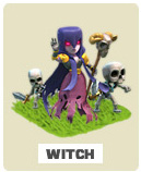 Ведьмы witch Clash of Clans