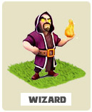 Wizard Волшебник Clash of Clans