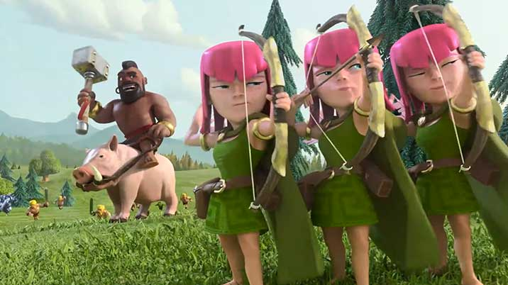 clash-of-clans-archer