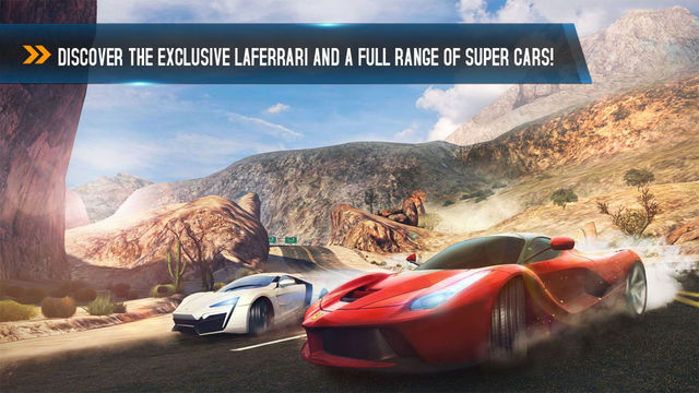 Asphalt 8 Airbone на Android/iOS