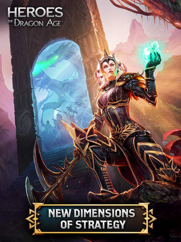 Heroes of Dragon Age для Android/iOS